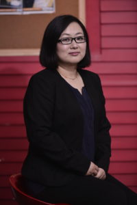 Kathy Chen, our PR Director - based in our Beijing office