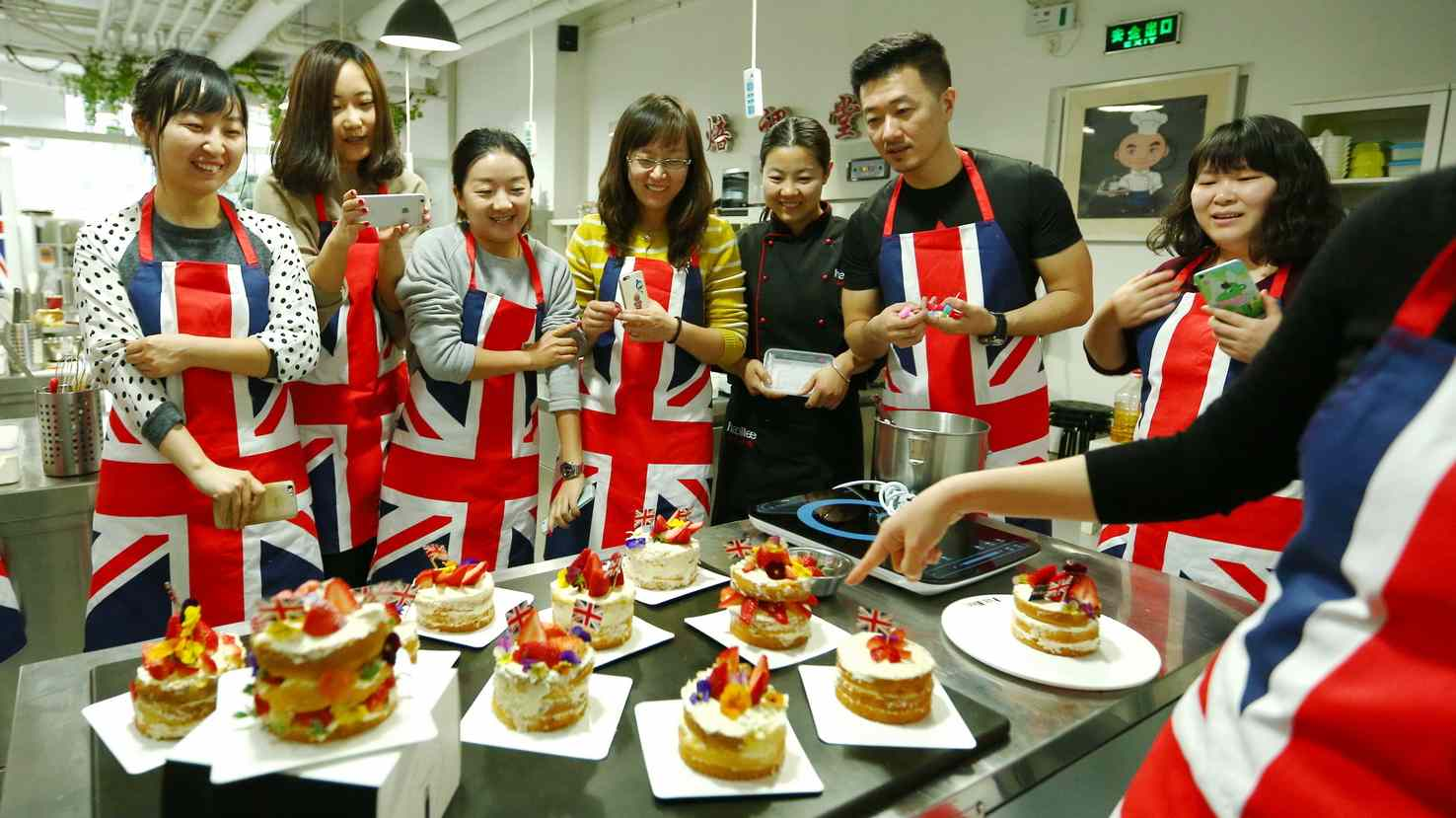 Leeds City Region holds Bake-Off in Beijing