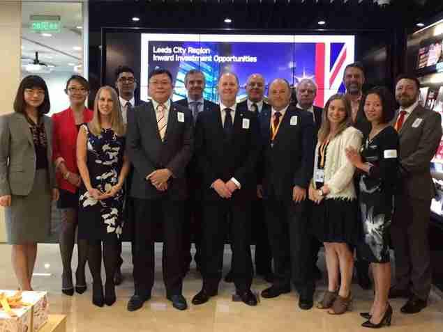 Leeds Enterprise Partnership visits Shanghai and Hangzhou