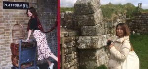Key Opinion Leader Sicilia's trip to the UK took her from Platform 9 3/4 in London up to Hadrian's Wall in England taking in numerous attractions along the way